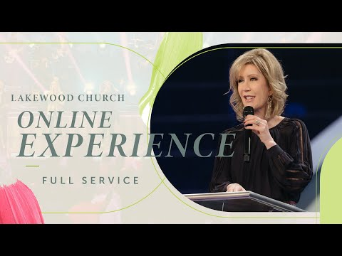 Lakewood Church LIVE  Lisa Osteen Comes  March 14, 2021