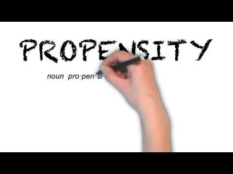 How to Pronounce 'PROPENSITY'- English Grammar