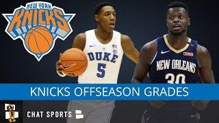Knicks Offseason Grades: Drafting RJ Barrett, Knicks Free Agency Moves & Missing Out on Kevin Durant