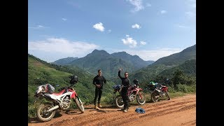 Dave Burgin and Ryan - Touring North Vietnam by Honda CRF250L