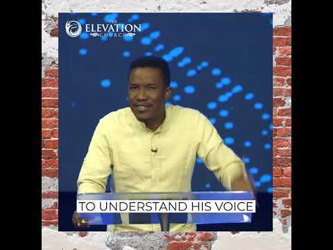 How do I recognize God's voice? - Godman Akinlabi