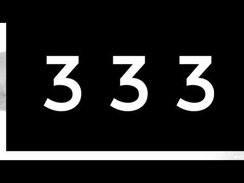 Prophetic Meaning of Number Sequence 333