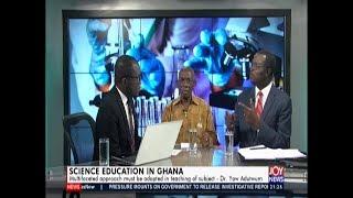Science Education in Ghana – PM Express on JoyNews (15-7-19)