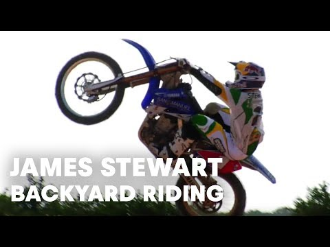James Stewart heli shoot and backyard riding session - UCblfuW_4rakIf2h6aqANefA