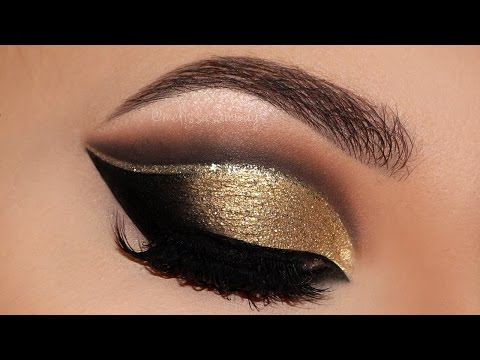 ⭐ Cut Crease Glam New Years 2016   Party Makeup Tutorial   Melissa Samways ⭐ - default