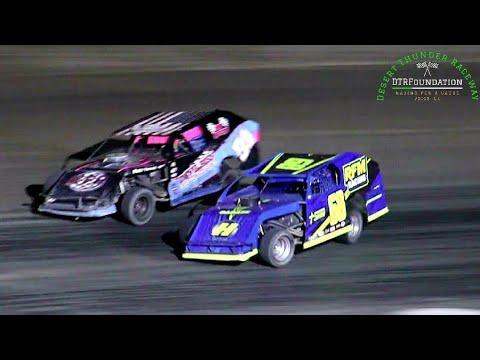 Desert Thunder Raceway IMCA Modified Main Event 6/26/21 - dirt track racing video image