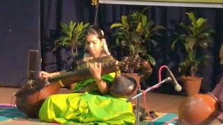Ghana Raaga Taana rendered on the Veena - kr.apoorva , Country