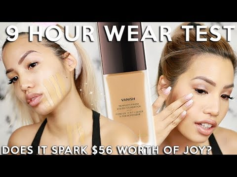 OH MAN... THIS NEW HOURGLASS VANISH LIQUID FOUNDATION | WEAR TEST REVIEW - UCyGcJGJ_k7AUJGDfExB5MfQ