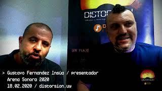 Conversamos con Gustavo Fernàndez Insúa luego de la final de Arena Sonora 2020 (13.02.2020)