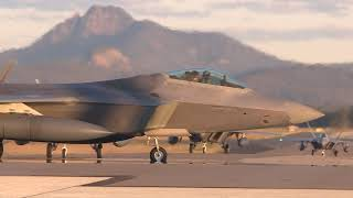 United States Air Force F-22 Raptors are in Australia for Exercise Talisman Sabre 2019