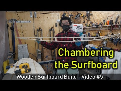 How to Make a Wooden Surfboard #05: Chambering the Surfboard - UCAn_HKnYFSombNl-Y-LjwyA