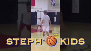 bts[9:16] Steph summer pickup mixtape b-roll 🤣 (j/k: Curry 🏀 with kids b4 Under Armour HQ visit)