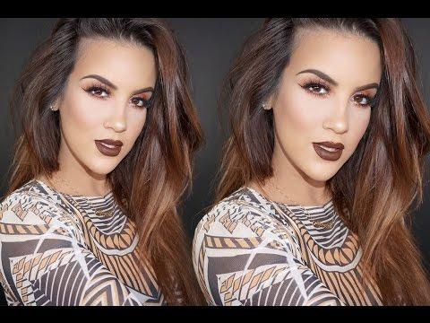 Dark Glam | Chocolate Lips -- Nicole Guerriero