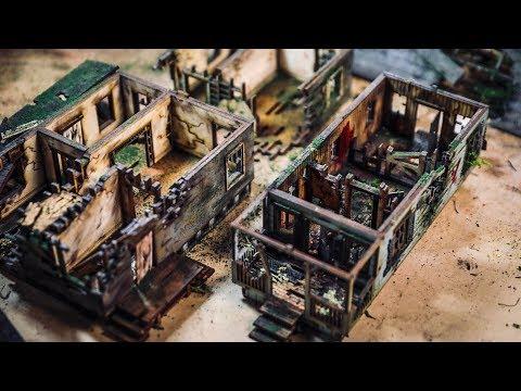 Painting and Aging Miniature Buildings! - UCiDJtJKMICpb9B1qf7qjEOA