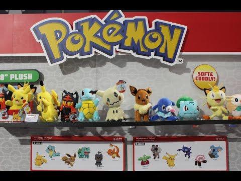 Pokemon Toy Fair 2018 - Wicked Cool Toys