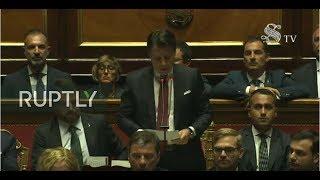 LIVE: Italian PM Conte addresses senate amid political crisis