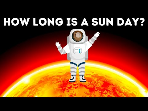 How Long Is A Day On The Sun?!