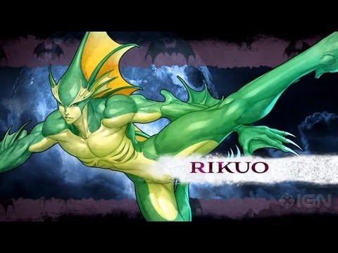 Darkstalkers - Rikuo Moves List - UCKy1dAqELo0zrOtPkf0eTMw