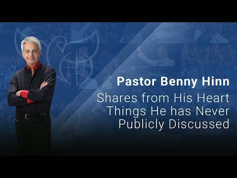 Pastor Benny Hinn - Shares from His Heart