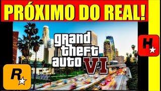 ROCKSTAR CONFIRMA: GTA 6 PRÓXIMO DA REALIDADE!! GTA VI NOVOS VAZAMENTOS GRÁFICOS, MAPA GIGANTE E