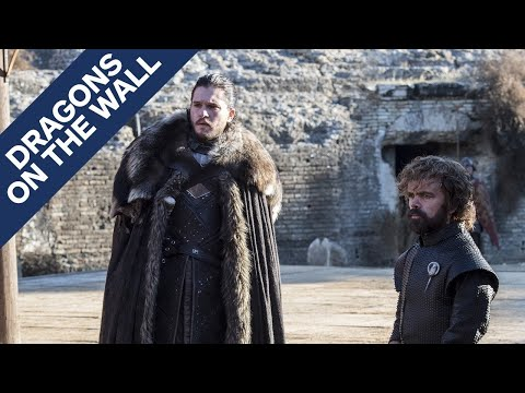 "Game of Thrones: ""The Dragon and the Wolf"" - Dragons on the Wall - UCKy1dAqELo0zrOtPkf0eTMw"
