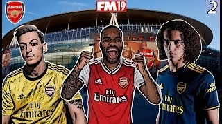FM19 Arsenal Save with UPDATED TRANSFERS #2! - FM20 DATABASE - DOMINATION & A TRIP TO ANFIELD!!!