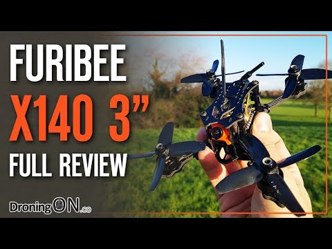 DroningON   Furibee X140 Review - Unboxing, Setup, RSSI & Flight Test - UCYoEOmvbMm0LX6AsIwANvug