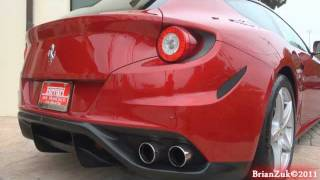 Ferrari FF Start and Rev