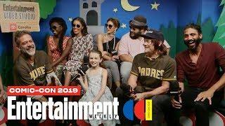 'The Walking Dead' Stars Norman Reedus, Danai Gurira & Cast LIVE   SDCC 2019   Entertainment Weekly