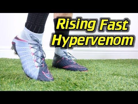 RISING FAST PACK! - Nike Hypervenom Phantom 3 DF - Review + On Feet - UCUU3lMXc6iDrQw4eZen8COQ