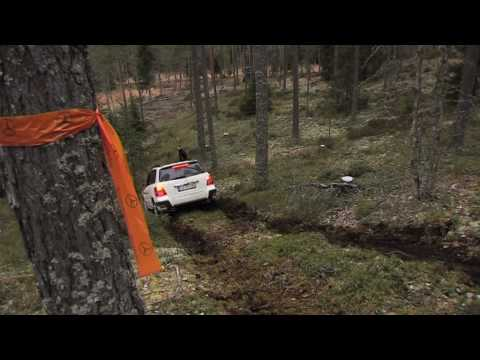 Mercedes GLK 220 offroad test driving in Norway - UCky7Jm8HVlYSswEpaO51gKw