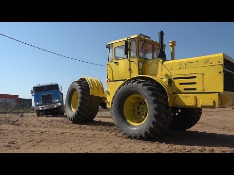 КИРОВЕЦ ТАЩИТ ГРУЖЕНЫЙ ГРУЗОВИК ... RC Tamiya trucks and K700 - UCX2-frpuBe3e99K7lDQxT7Q