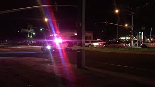 Man in critical condition after being struck by a car in central Fresno