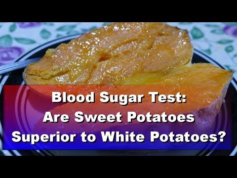 Blood Sugar Test: White Potato vs Sweet Potato - UCmKsQWqGmDPIWgrVqGYbc3w