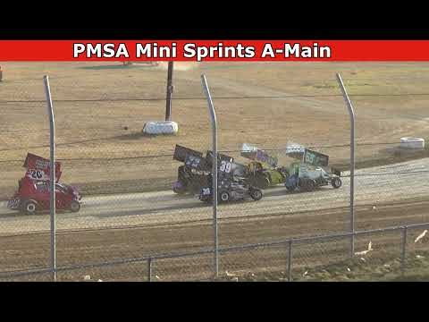 Grays Harbor Raceway, July 23, 2021, PMSA Mini Sprints A-Main - dirt track racing video image