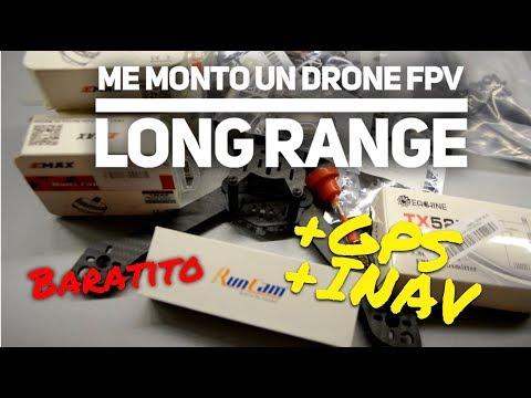 Me monto un DRONE LONG RANGE con INAV y GPS baratito... ¿Volará? (Parte 1) - UCMf2ohoBrB1pgErsMa21SKg