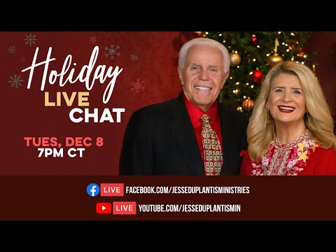 Holiday Live Chat with Jesse & Cathy