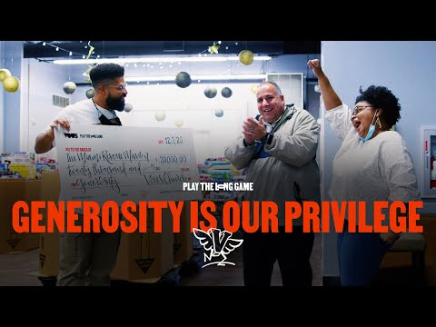 Generosity Is Our Privilege 2020  Play The Long Game