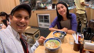 Tokyo Haneda Airport Ramen Food Adventure