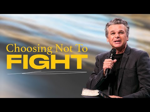 Choosing Not To Fight  Pastor Jentezen Franklin