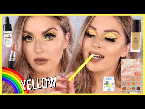 Neon YELLOW Eye Makeup ⚡ - UCMpOz2KEfkSdd5JeIJh_fxw