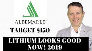 Lithium Stocks Are Good Now - Not Last Year - Albemarle Stock Analysis