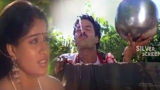 Vijayashanthi And Balakrishna Hilarious Comedy Scene | Telugu Comedy Videos |  Silver Screen Movies