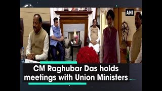 CM Raghubar Das holds meetings with Union Ministers