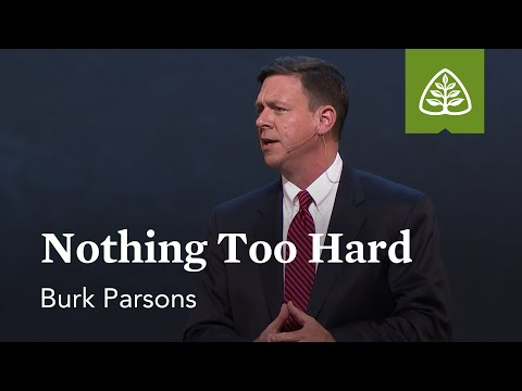 Burk Parsons: Nothing Too Hard
