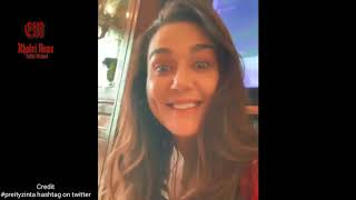 Preity zinta funny viral Video  latest