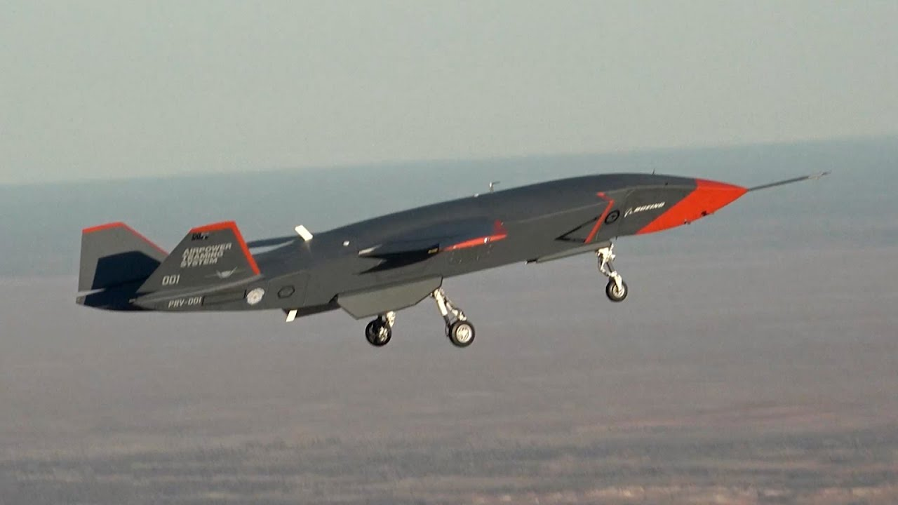 Boeing's Loyal Wingman completes first test flight