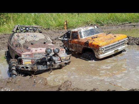 Сравнительный тест-драйв в гряземесе ... Everest Gen 7 и Vaterra 1968 Ford F100 - UCX2-frpuBe3e99K7lDQxT7Q
