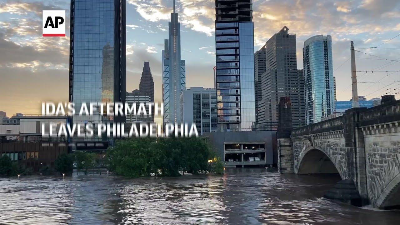 Ida's aftermath leaves Philadelphia flooded