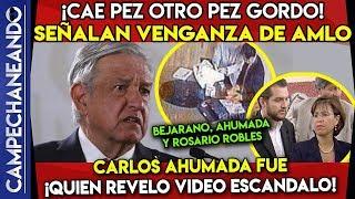 AMLO SE TOPA CON UN VIEJO ENEMIGO ¡CAE PEZ GORDO CARLOS AHUMADA!